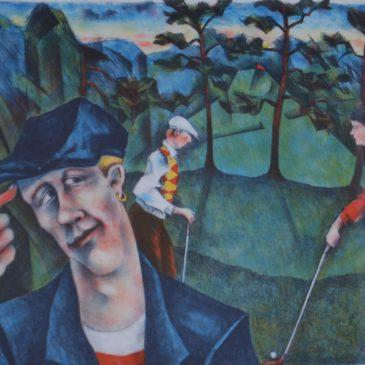 """Jussi Taipaleenmäki, """"Golfaren"""""""
