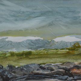 """Jón Leifsson, """"Isländskt landskap III"""""""
