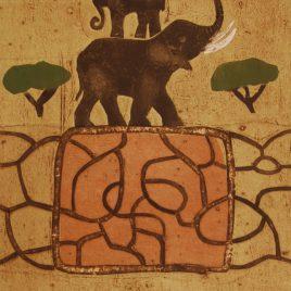"Aino Myllykangas ""Elefanter"""