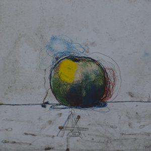 """P G Thelander, """"Äpple"""", etsning, 2 500 kr inkl ram"""