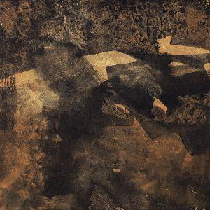 """Anna Törnquist, """"Trädsvit III"""", tempera, h/b 20x20 cm, 2 500 kr"""