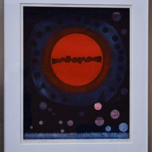 "Bertil Lundberg, ""Utan titel"", originaletsning, 49x39 cm, 3 000 kr inkl ram"