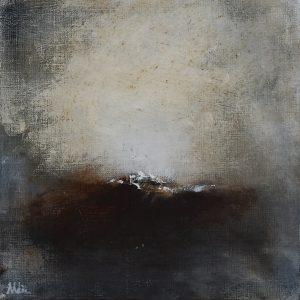 "Anders Adèrn, ""Ljuset"", olja, h/b 30x30 cm, 2 500 kr"