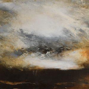 """Anders Adèrn, """"Sken"""", olja h/b 54x73 cm, 6 500 kr"""