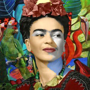 """Per Siwmark, """"Frida Kahlo"""", pigmnet prints, h/b 48x33 cm, 2 800 kr exkl ram, 3 500 kr inkl ram med UV-glas"""