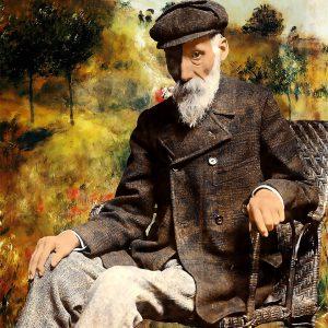 """Per Siwmark, """"Pierre-Auguste Renoir, pigment prints, h/b 48x33 cm, 2 800 kr exkl ram, 3 500 inkl ram med UV-glas"""